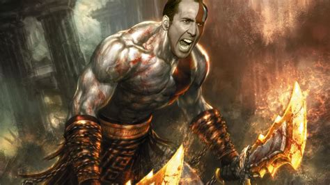 god of war film nicolas cage 12 of your favorite game characters face swapped with