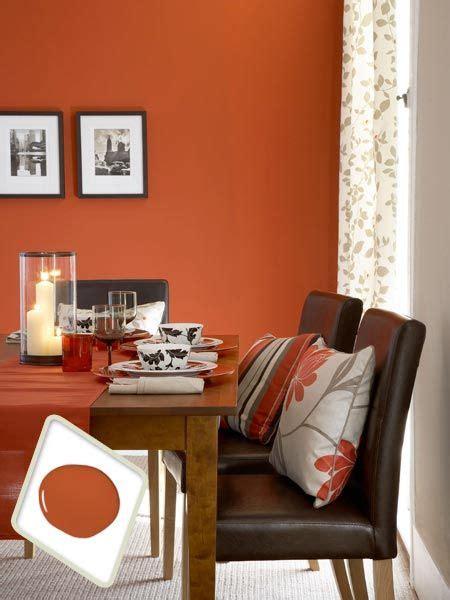 colors  dining room drama orange dining room