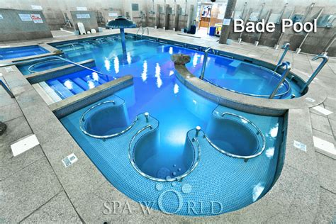 bade bathroom welcome to spa world