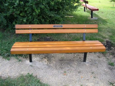 pictures of park benches park bench donation parks and open space public works city of winnipeg