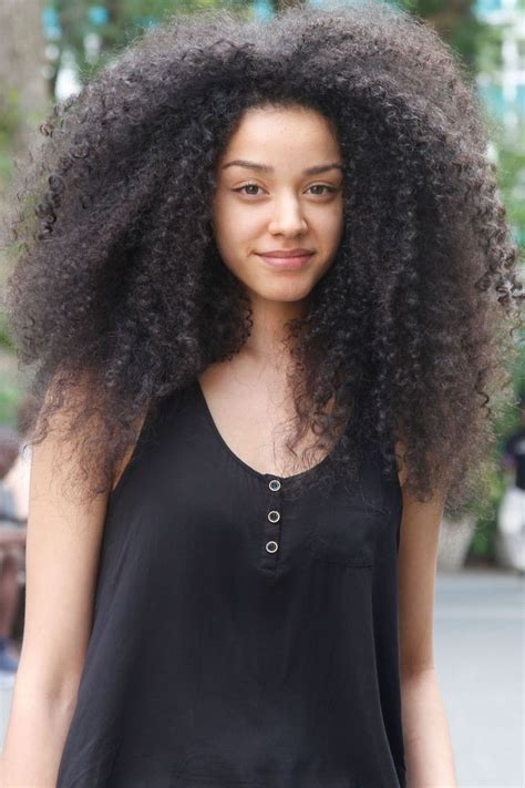 kinky on long face kinky curly hairstyles for afro american girls fave
