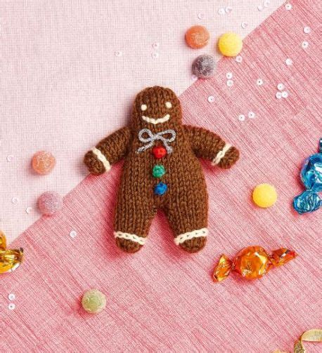 knitted gingerbread free pattern free free gingerbread knitting pattern patterns