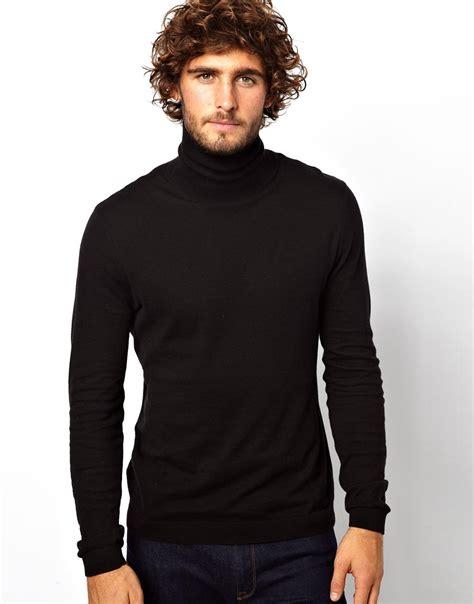 Swater Hoodie Jumper Sonor Black 1 lyst zoe karssen roll neck sweater in black for