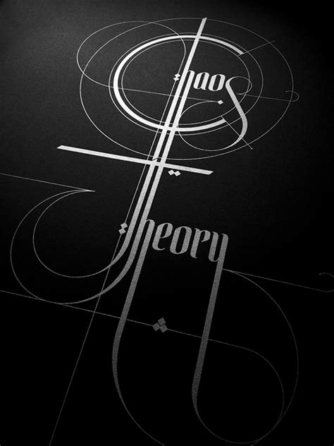 chaos theory pattern emerges chaos theory on behance