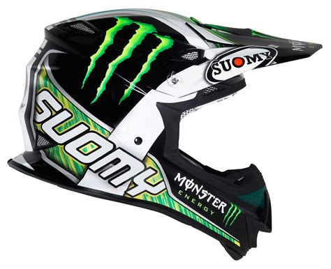 monster helmet motocross suomy mx jump monster energy helmet revzilla