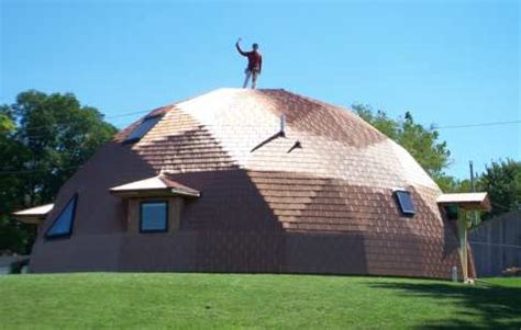 Dormer Roof Design Building The Superinsulated Geodesic Dome