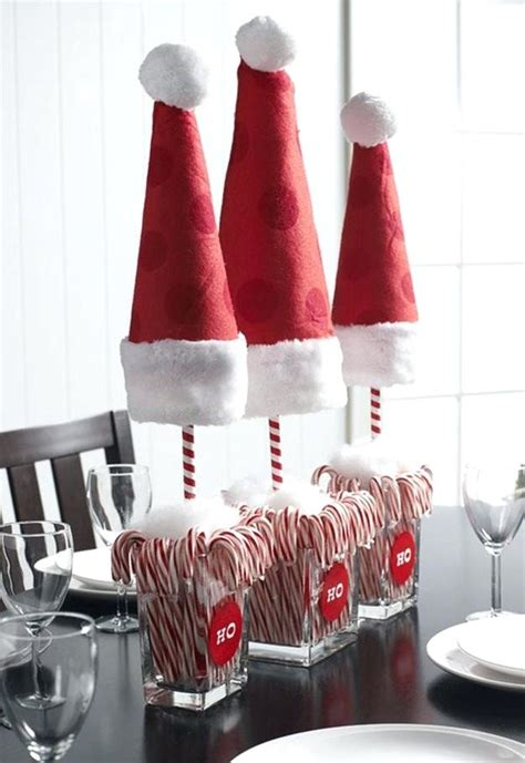 cute christmas table decorating ideas centerpieces small wooden box filled with small trees decorations for tables