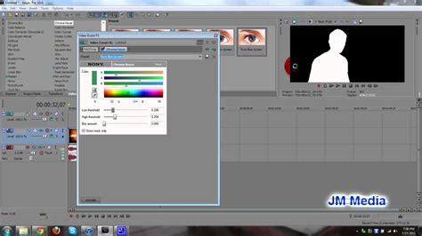 vegas pro green screen tutorial vegas pro 10 tutorial how to chroma key a green screen