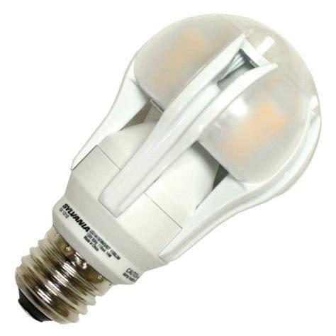 sylvania led light bulbs sylvania 72565 a19 a line pear led light bulb