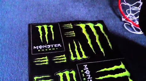 Monster Energy Aufkleber Kostenlos by How To Get Free Monster Energy Stickers Youtube