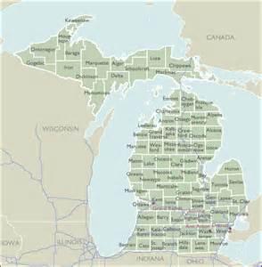 Michigan Zip Codes Map by County Zip Code Maps Of Michigan