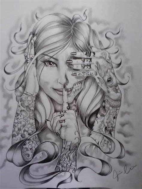 evil woman tattoo designs hear no evil see no evil speak no evil quotes