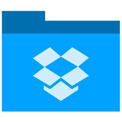 dropbox icon dropbox icon phlat blue folders iconset shaunkleyn