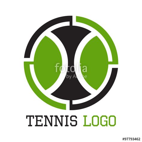 Logo Tenis quot tennis logo tennis object design quot stock image and