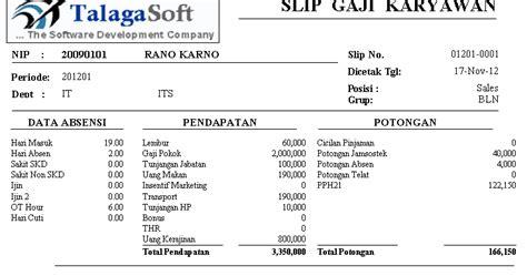 format print lop surat contoh faktur gaji contoh sur