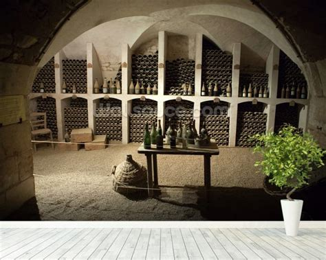 Wine Wall Murals grand wine cellar wallpaper wall mural wallsauce