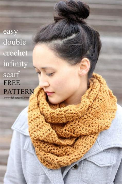 infinity scarf crochet pattern easy free easy crochet infinity scarf pattern for beginners