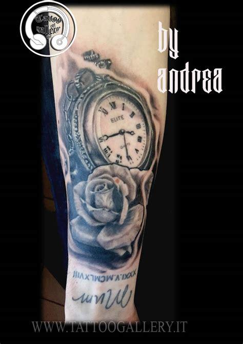 new tattoo vitamin e new tattoo orologio con rosa tattoogallery it