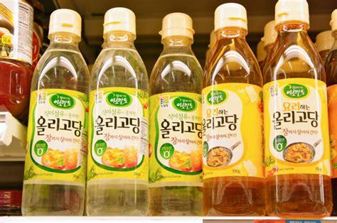 Minyak Wijen Korea bahan dan bumbu dapur masakan korea sedap sekejap