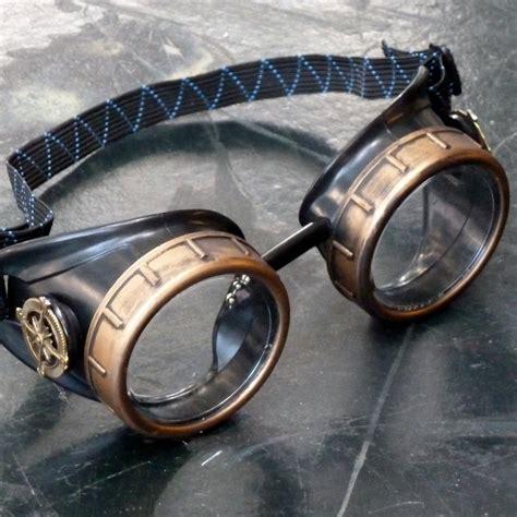 Klassische Motorradbrille by Classic Black And Bronze Steunk Compass Goggles