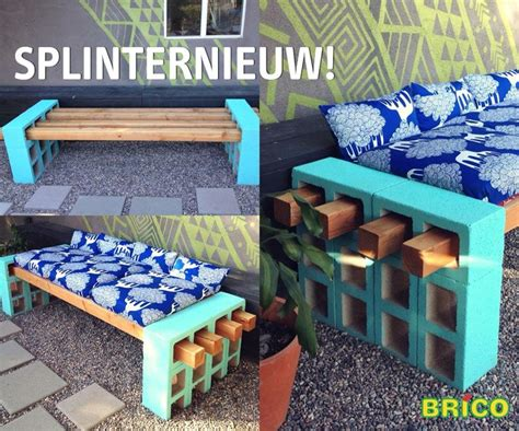 cheap concrete benches love this idea from brico to build a solid cheap