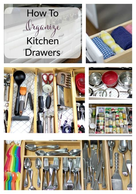 how to organize kitchen drawers home the organized mama