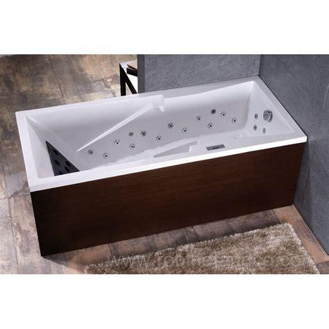 baignoire massante baignoire droite baln 233 o tecnica ergonomique massante 180 x