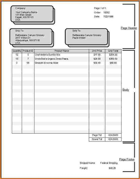 4 how to fill out an invoice bibliography format