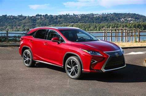 lexus rx red confirmed three row lexus rx coming