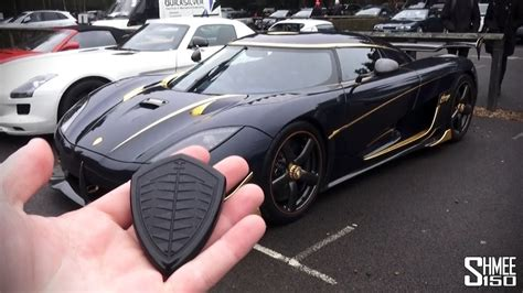koenigsegg agera r car key my friend s new koenigsegg agera rs youtube