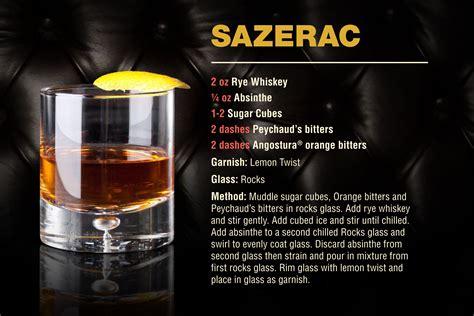 cocktail sazerac angostura