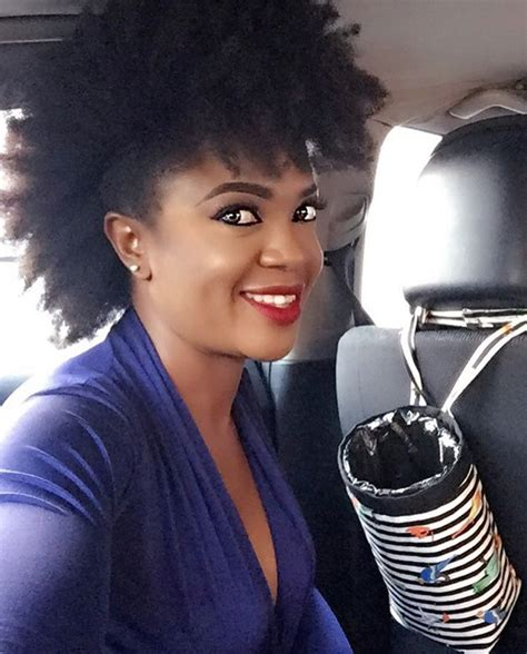 nigerian celebrity hair style nigerian celebrities with natural hair beautiful nigeria