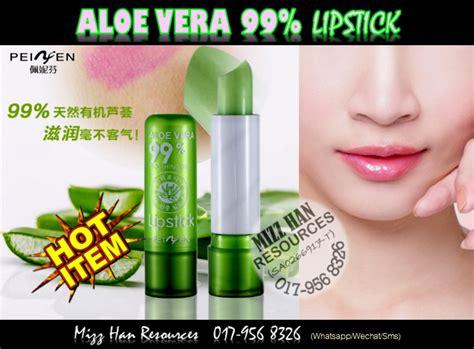 Lipstik Aloe Vera mizzhan resources aloe vera 99 soothing gel lipstick