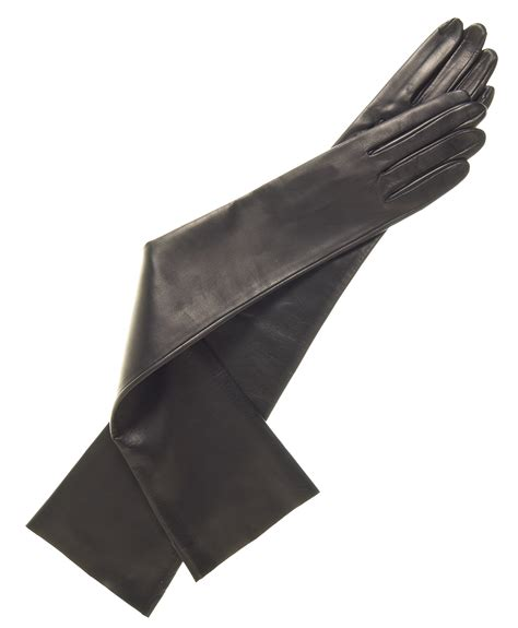 leather gloves italian unlined opera length gloves by fratelli orsini free usa shipping at leather gloves