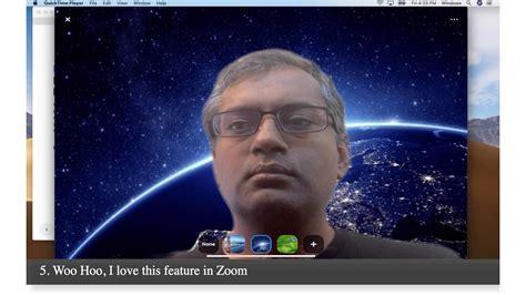 enable virtual background  zoom  ipad youtube