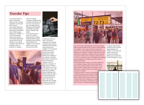 magazine layout blog layout design types of grids for creating professional