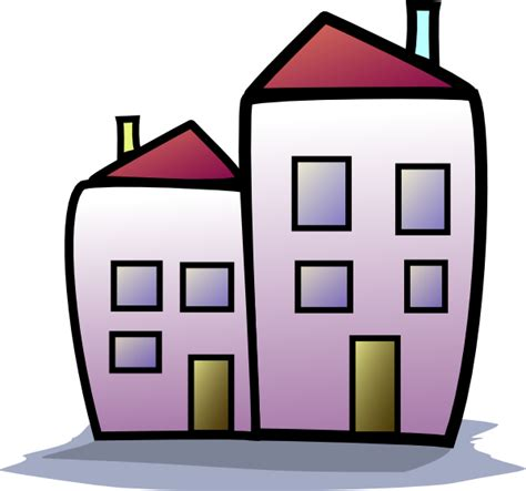 Clipart House by Homes Clipart 2 Clip At Clker Vector Clip Royalty Free Domain