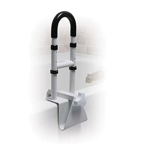 bathtub safety rails drive medical height adjustable bathtub safety rail bed