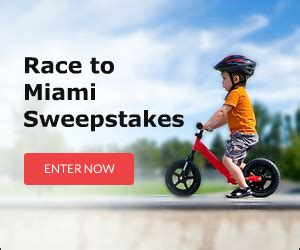 Sweepstakes Advantage Plus - race to miami cing world sweepstakes sweepstakes advantage
