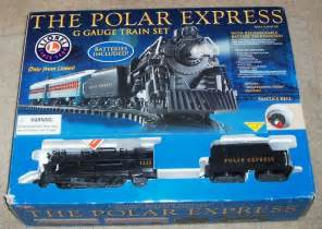 Lionel polar express train set g gauge caroldoey