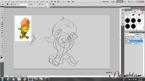 how to create digital doodle photoshop for beginners pt 4 digital drawing with a