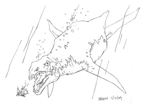sea dinosaur coloring page free coloring pages of sea creature