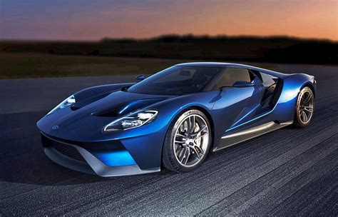 Large Garages by 2017 Ford Gt Blue New 2