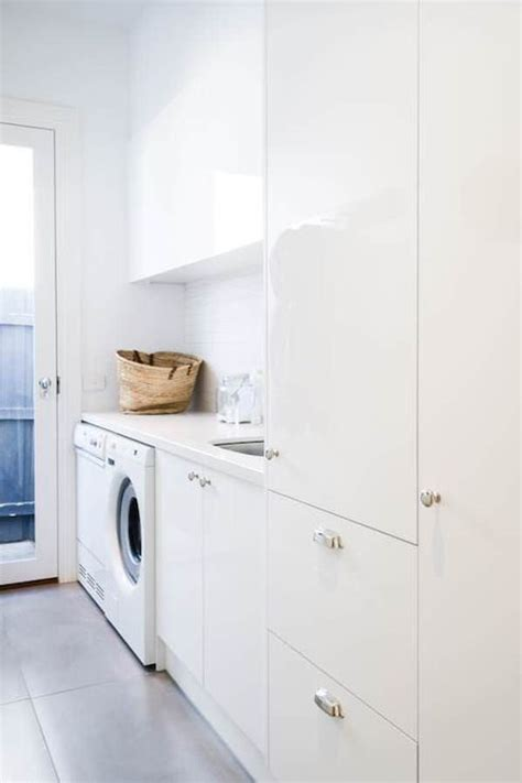 White Laundry Room Cabinets Design Ideas White Cabinets For Laundry Room