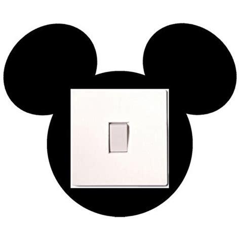 mickey schlafzimmer lichtschalter aufkleber mickey maus f 252 r kinder