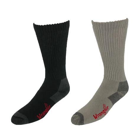 mens otc cotton work boot sock pack of 4 by wrangler