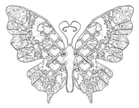 advanced butterfly coloring pages best photos of butterfly valentine coloring pages hearts