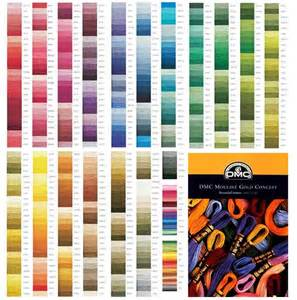 dmc thread color chart dmc floss cross stitch embroidery