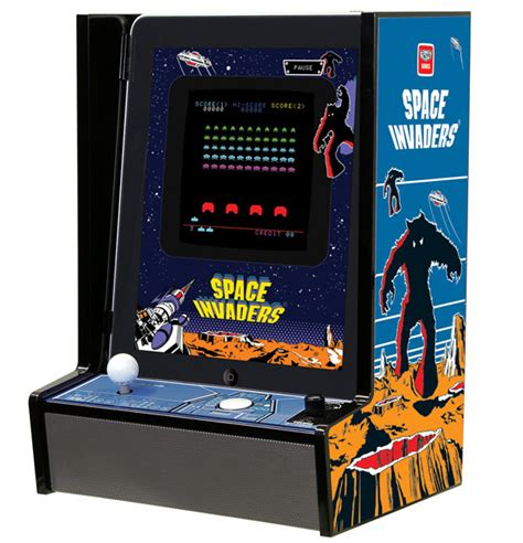 Space Invaders Cabinet by Taito Invadercade Arcade Cabinet No Quarters