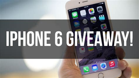 Phone Giveaway - fill a form and get a free iphone 6s and free iphone 7